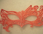 Fairy Eyes Lace Mask in Rose