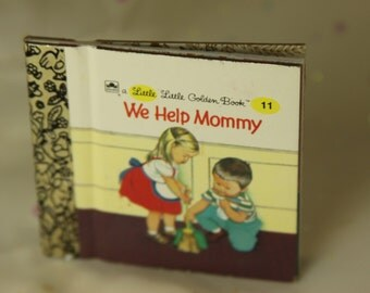 Little Little Golden Book We Help Mommy New and Unused Collectible Book