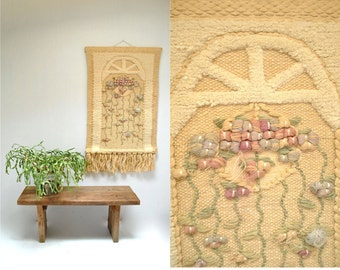 sale... Textile Art  //  Wall Hanging  //  THE WINDOW