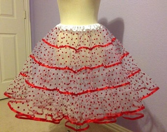 Made to Order Polka Dot tulle petticoat