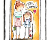 Printable Download 8x10 - You Are Loved