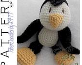 INSTANT DOWNLOAD : KISS Series - Penguin Crochet Pattern