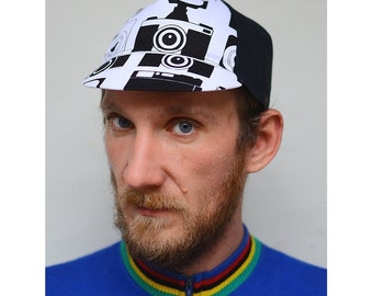 Serin Handmade Custom Cycling Cap (camera printing )1.