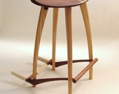 Special listing for bonzo30. Guitar stool with engraved message on under side of seat.
