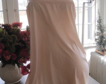Vintage New Old Stock 1930's Silk Jersey Nightgown ....Wedding Lingerie...Bridal Wear