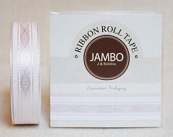 Adhesive Fabric Tape - Diamond Pink (0.6in)