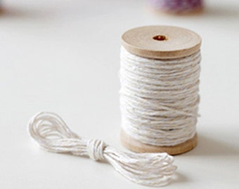 Baker Twine Strings - Beige (25 yards)