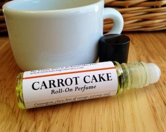 Carrot Cake perfume oil, roll on perfume, vegan perfume, sweet perfume, dessert perfume