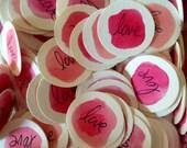 For Your Valentine - Glass Box Full of Love Confetti