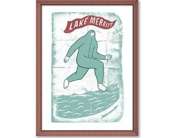 Lake Merritt Print