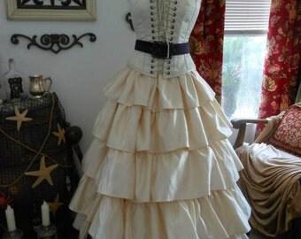 Pirate Renaissance Wedding Dress