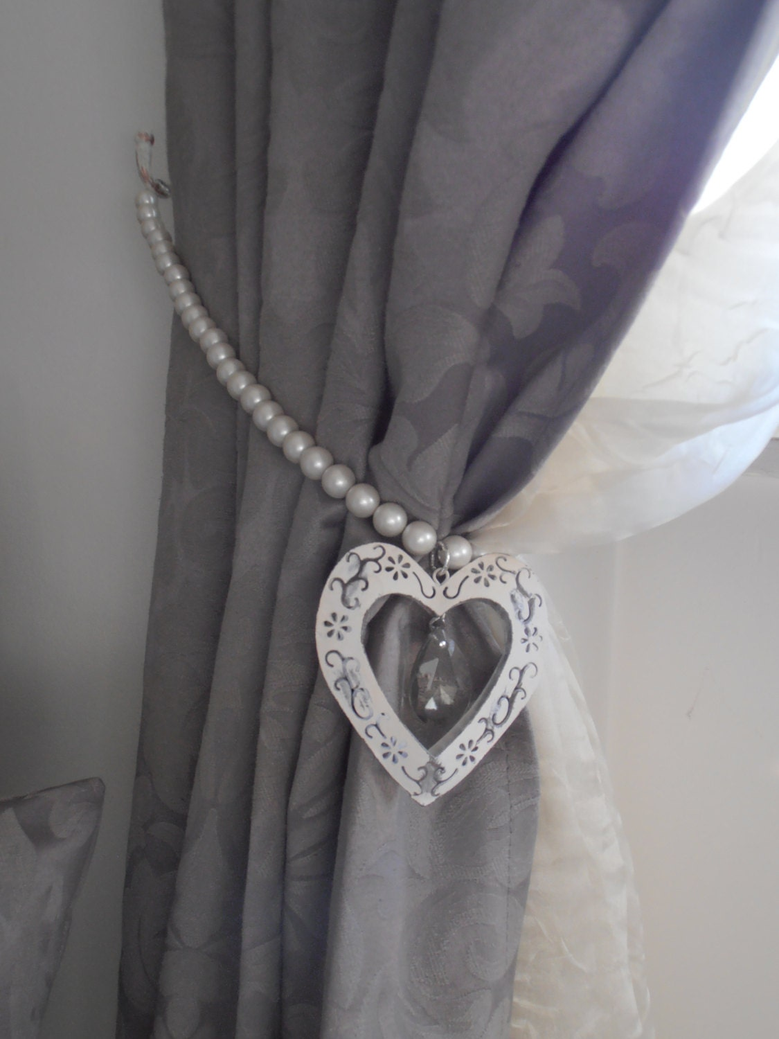 Decorative Curtain Tieback Faux Pearls By Milanchicchandeliers