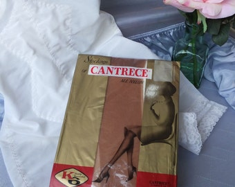 Vintage CANTRECE Stockings /  BURLESQUE Stockings / New in Package