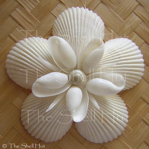 Items Similar To Seashell Snowflake Christmas Ornament