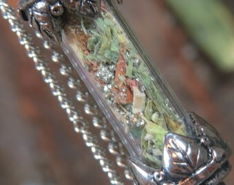 Money Necklace, Talisman for Money Luck and Prosperity, Abundance, Money Jar Spell, Witchcraft Jewelry, Money Drawing Pendant, Wicca, Witch