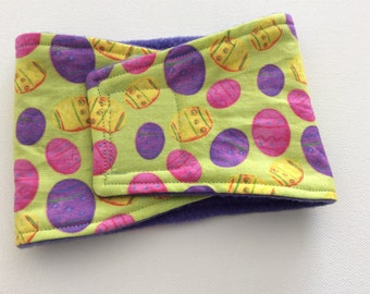 Easter Eggs Belly Band - Male Dog Diaper - Available in All Sizes