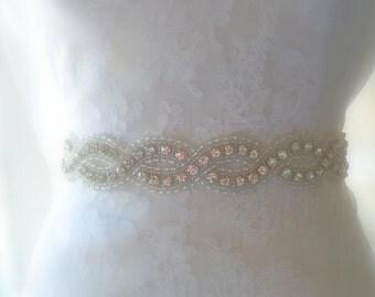 Wedding Belt, Bridal Belt, Sash, Bridal Sash, Belt, Crystal Sash, Rhinestone Belt, Wedding Belt Sash, Crystal Wedding Belt,