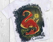 DRAGON birthday shirt - personalized birthday shirt - hobbit themed birthday