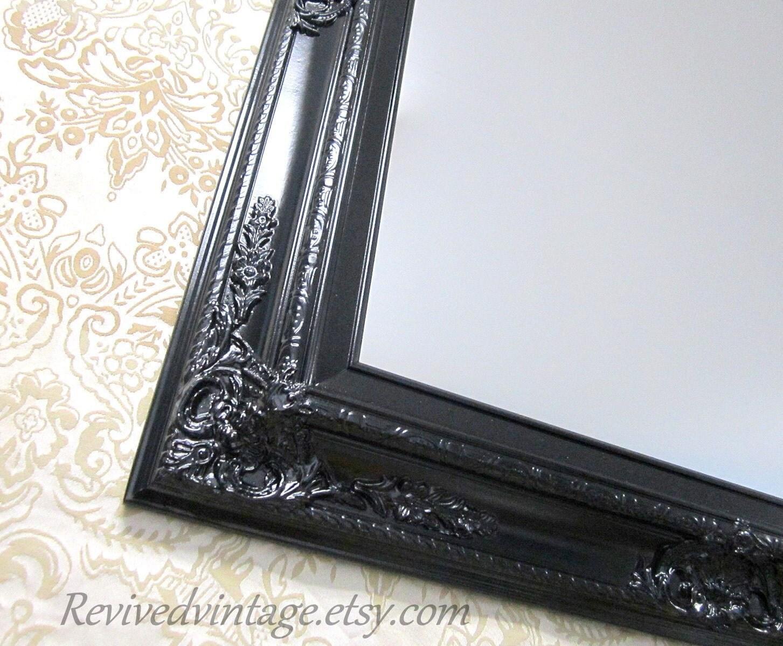 Black bathroom mirror for sale baroque batheroom vanity for Baroque bathroom mirror