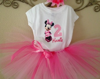Minnie Mouse Birthday, Minnie Mouse 2nd Birthday, Minnie Mouse Tutu Outfit, Minnie Mouse 1st Birthday Outfit, Minnie Mouse Birthday Outfit