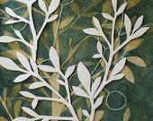 Original Watercolor Painting  - Fruitless