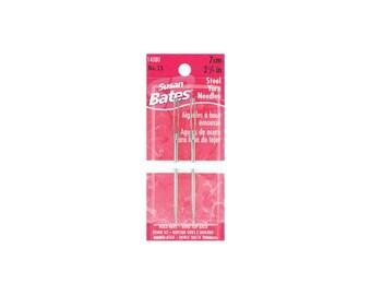 14080 Steel Yarn Needles 2.75 Inch Size 13 2 pack