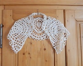 antique lace collar french collar