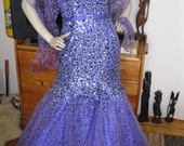 Beautiful Tony Bowls purple Gown size 8