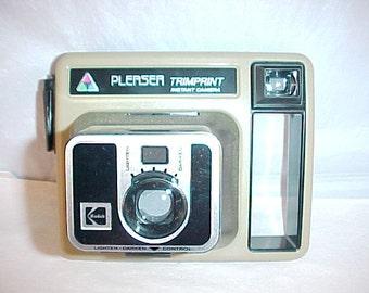 Kodak Pleaser Trimprint Instant Camera