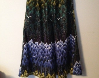 maxi skirt, forest, size 18+