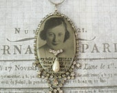Adele-Assemblage Necklace-Pocket Photo Mirror-