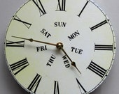 Unique wall clock. Modern version of a vintage mantle clock. Like Grandma's Victorian clock.