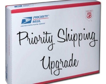 Priority Mail Upgrade for USA - 1 to 3 Day Shipping Time, Business Days Only