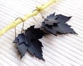 Sale Maple Leaf Woodland Earrings - inner tube jewelry
