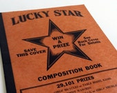 1940s Unused Lucky Star Composition Notebook