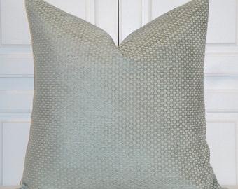 Decorative Pillow Cover - Spa Chenille Pillow - Lattice - Sofa Pillow - Geometric Pillow - Chair Pillow