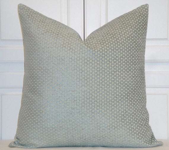 Chenille Throw Pillow Covers : Decorative Pillow Cover Spa Chenille Pillow Lattice Sofa
