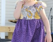 Peasant Dress - Sizes 2-6