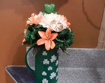 SALE St Patrick's Day centerpiece Beer Mug
