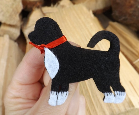 Portuguese Water Dog brooch, Portuguese Water Spaniel, Dog Jewellery, Water Spaniel Gift, Dog Brooch, Water Spaniel, Pin, Badge, Felt,