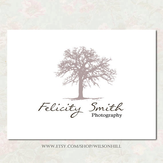 Premade Logo Design - Premade logo and watermark -  Custom Business Logo  - Photography Logo - Customized for Any Business -  tree