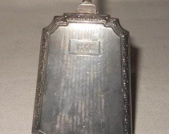Antique compact wristlet