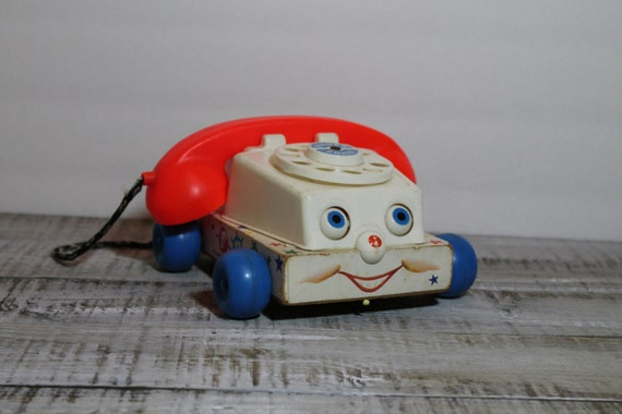 1960s Fisher Price Chatter Telephone
