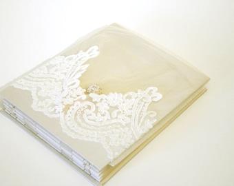 Wedding Photo Album, Double Thick 10x13 Album, Personalize, Handmade, Wedding Book, ArtByChapin
