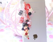Kawaii Sailor Mars Candy Phone Charm