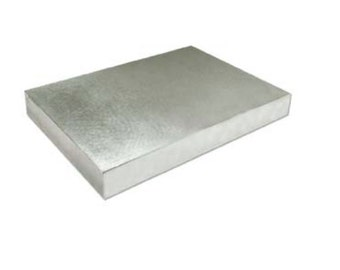 BIG Bench Block Beadsmith- Measures  6 x 4 x .5 inch-Great Item for Metal Stamping -More Surface Area