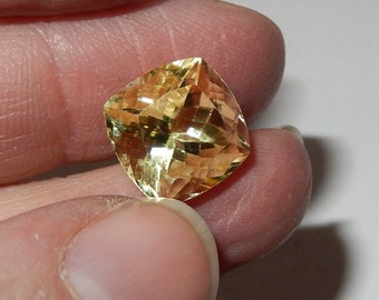 Faceted Yellow Scapolite