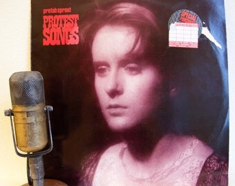 "ON SALE Prefab Sprout Vintage Vinyl LP Record Album 1980s Synth-Pop Rock Alternative ""Protest Songs"" (Uk Import 1989 Cbs)"