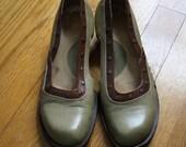 Vintage Fluevog Demi Heels Size 7