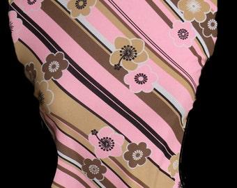 Pink Swimsuit Spandex Fabric Lycra